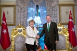 Merkel to discuss Syria with Erdogan during his visit next week