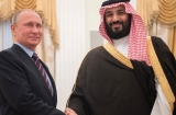 Russian officials meet Saudi crown prince to discuss Syria