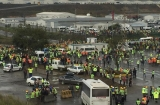 Nearly 600 workers arrested at Istanbul airport site as company calls strikers 'terrorists'