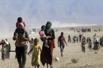 Yazidi campaigners use social media to call for road opening