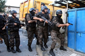 Turkish police operations in predominantly Kurdish cities before upcoming local elections