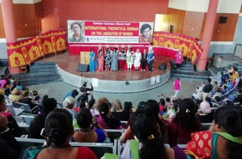 International Theoretical Seminar on Women's Liberation in Bangalore dedicated to Sakine Cansiz
