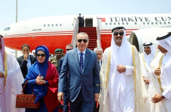 New alliances to overcome economic crisis: Qatar's emir heads to Turkey for talks with Erdogan