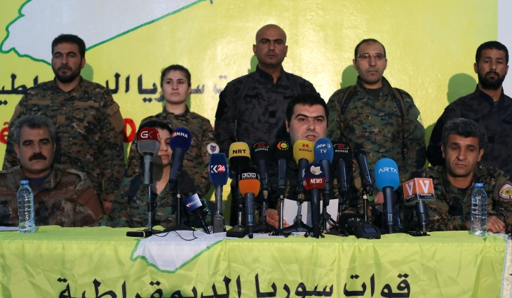 Resultado de imagen de Syrian Democratic Forces denies presence in rebel stronghold Idlib