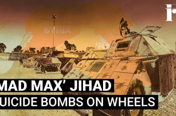 'Mad Max' Jihad- Suicide Bombs On Wheels